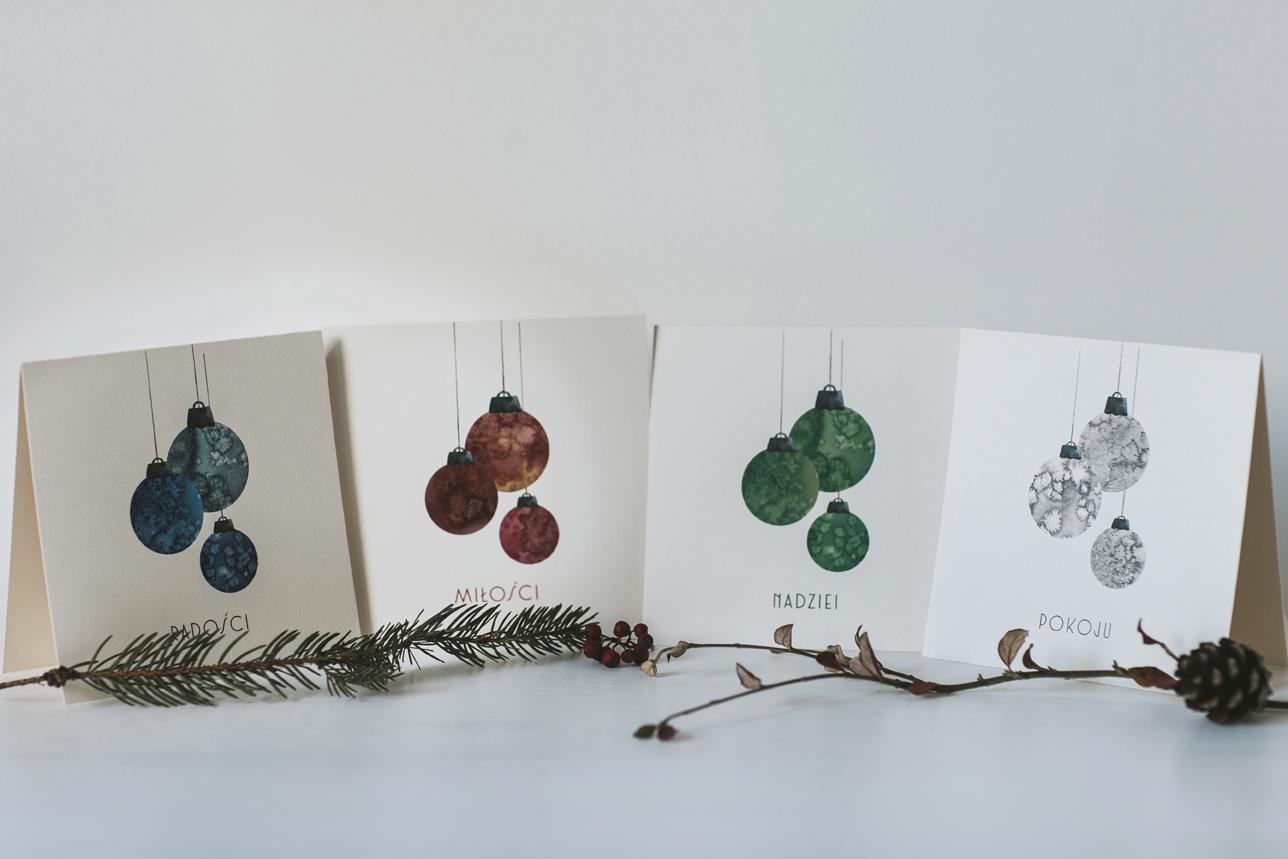 firmowe kartki świąteczne z logo