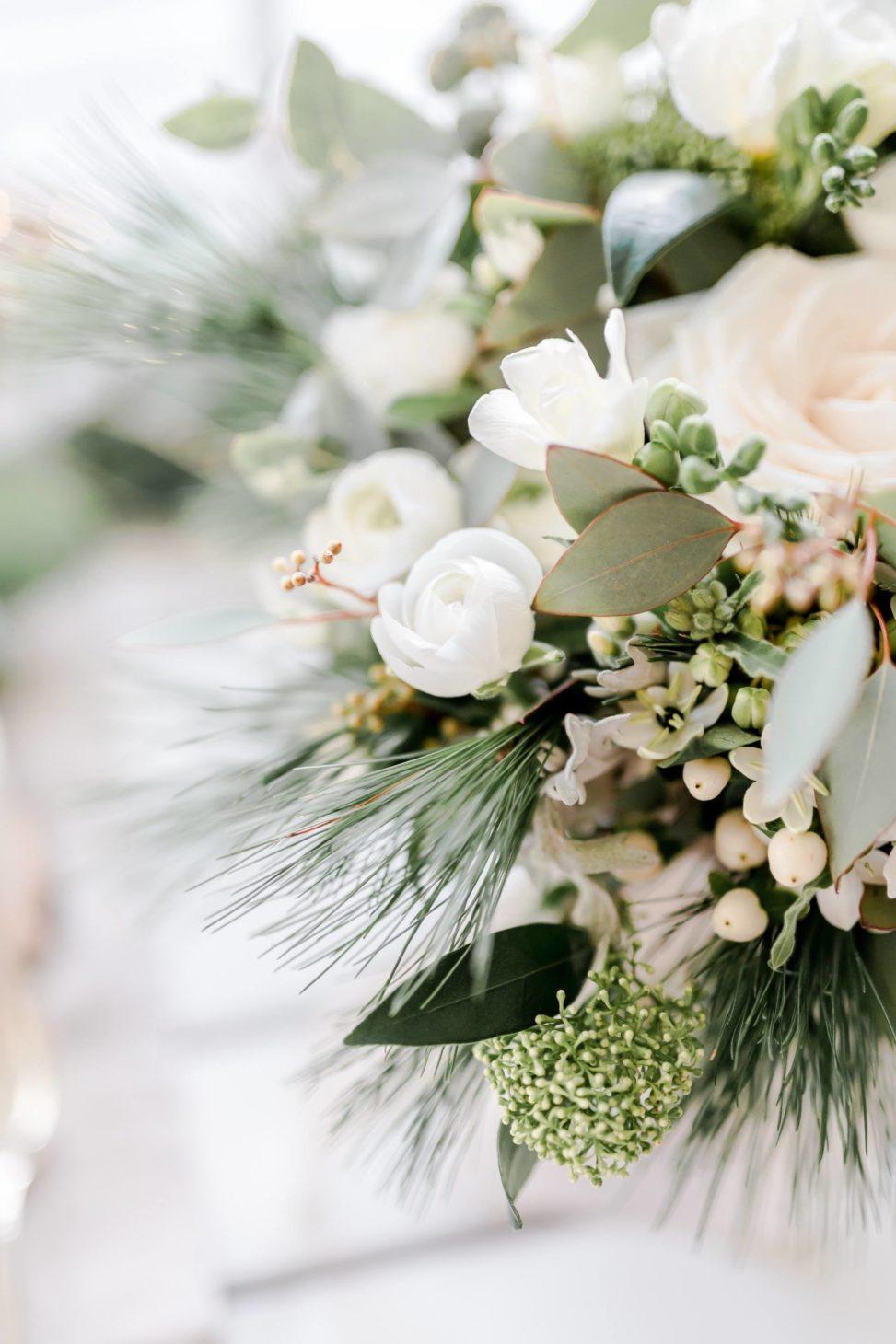 Kwiaty Bukiet Na Zimowy ślub Paperwords