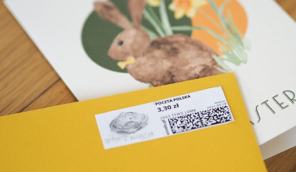 jak kupić znaczek pocztowy nie wychodząc z domu
