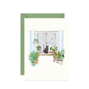 kartka dla miłośników roślin doniczkowych