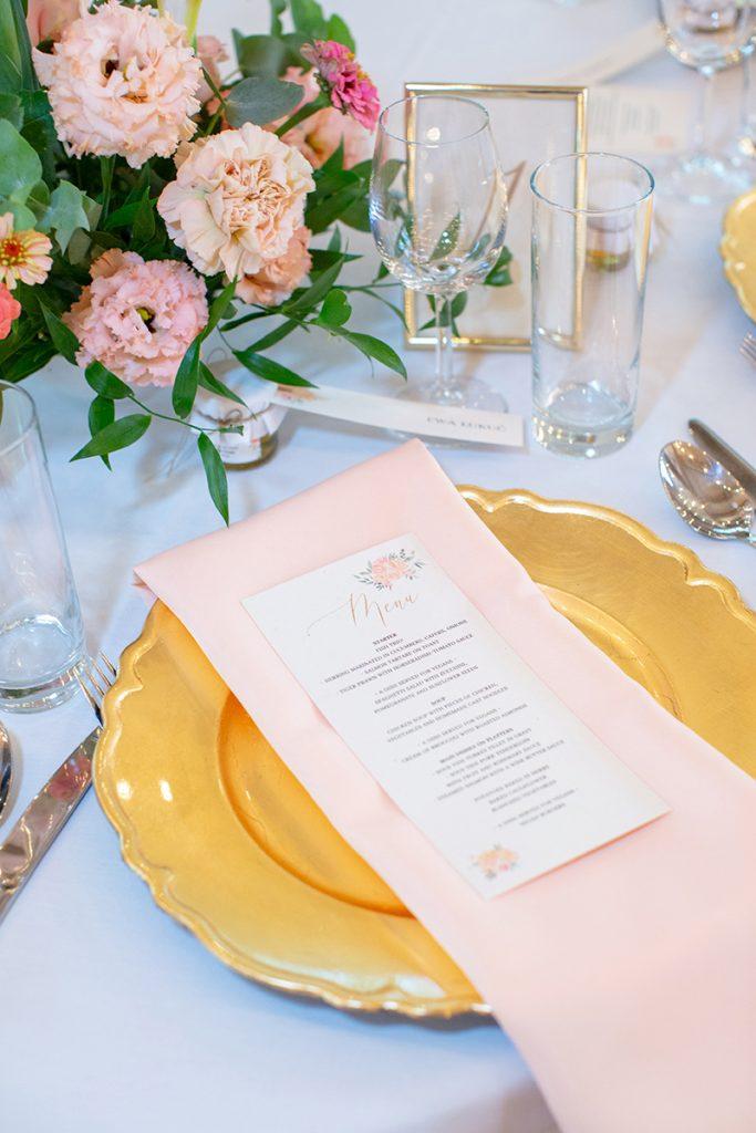 Indywidualne menu weselne