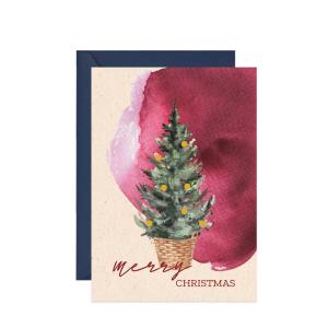 kartka świąteczna Merry Christmas card best wishes